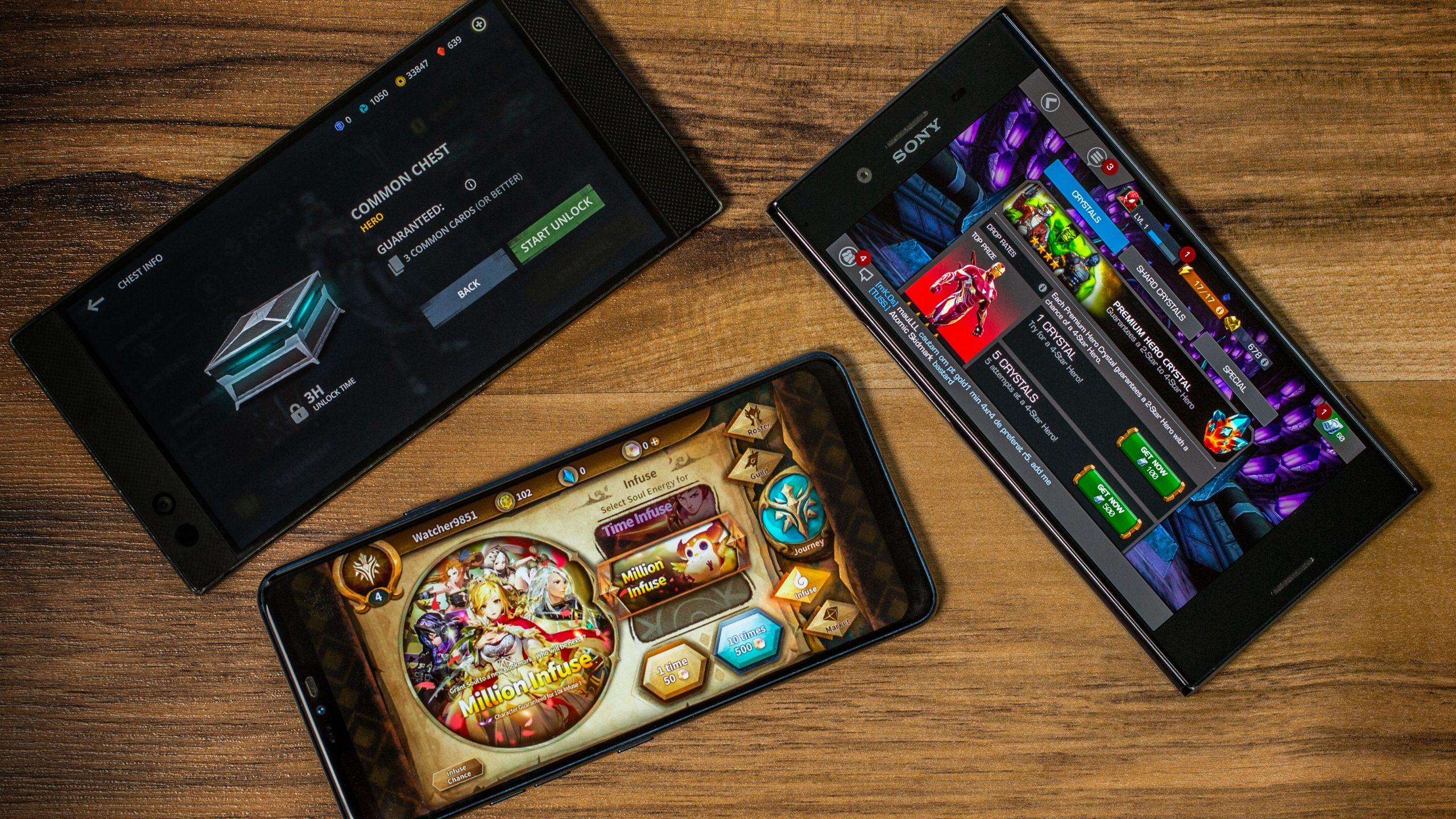 5 kuulsat mängutootjat, kes avaldavad oma mänge Androidile