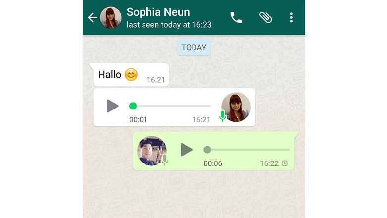 whatsapp sprachnotizen