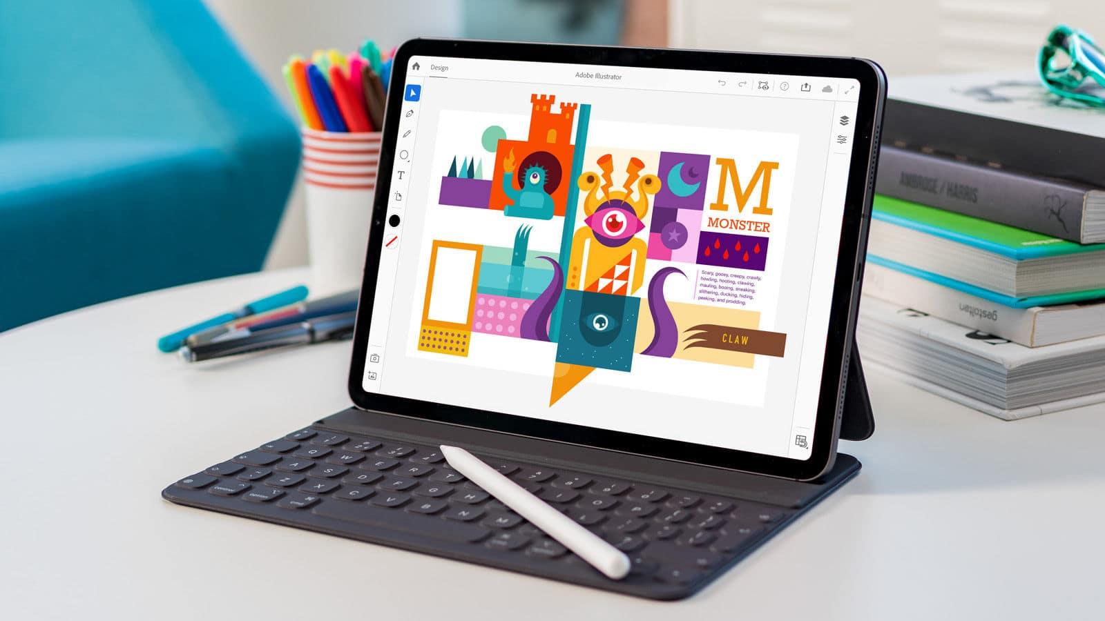 Adobe kutsub kasutajaid iPadi Illustratori beetaversiooni testima
