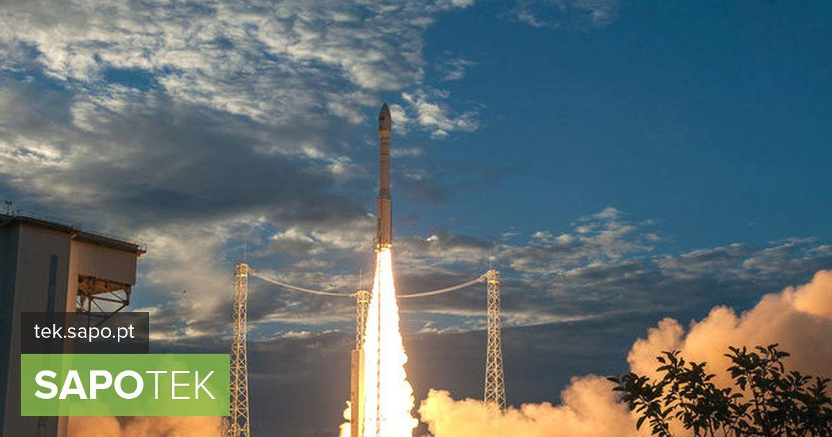 Aeoluse satelliit on juba orbiidil.  Vaadake käivitamise pilte ja videoid