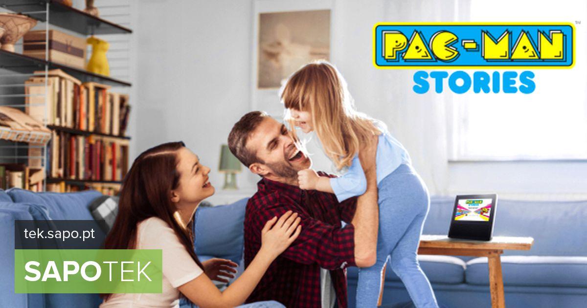 """Alexa ja Pac-Man on """"partnerid"""", kes räägivad lastele lugusid"""