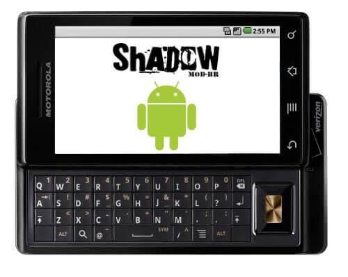 Allalaadimine: Motorola Milestone'i jaoks mõeldud ShadowMOD-BR v2.3.2b1 (jah, see on piparkook!)
