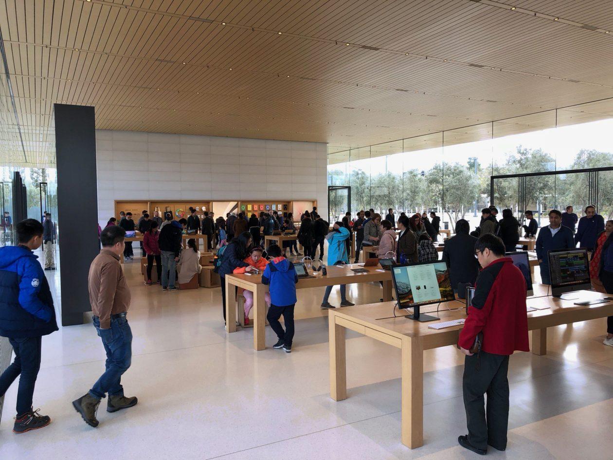 """Apple Parki külastuskeskus on juurdepääsetavuse klass """"kui raha pole probleem"""""""