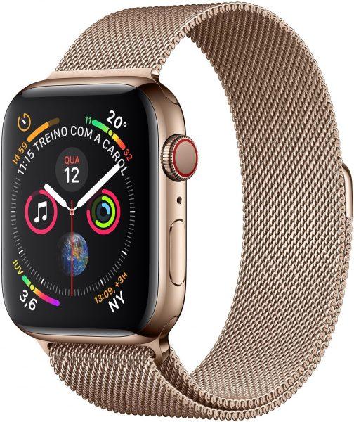 Kuldne Apple Watchi seeria 4