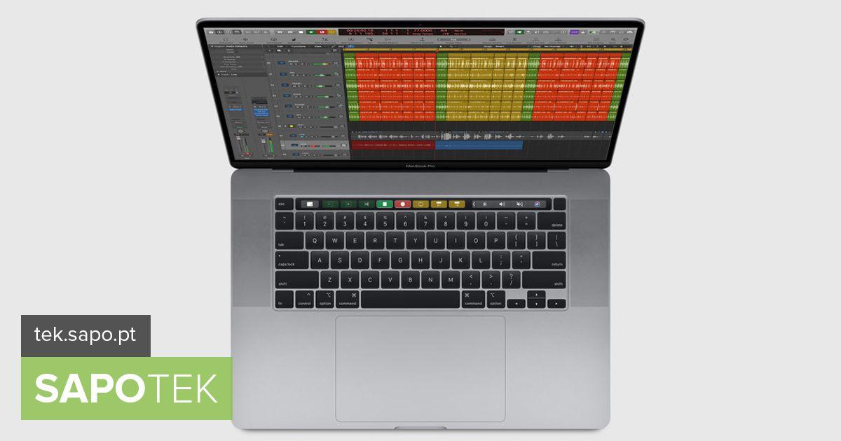 Apple kinnitas uue 16-tollise MacBook Pro saabumist