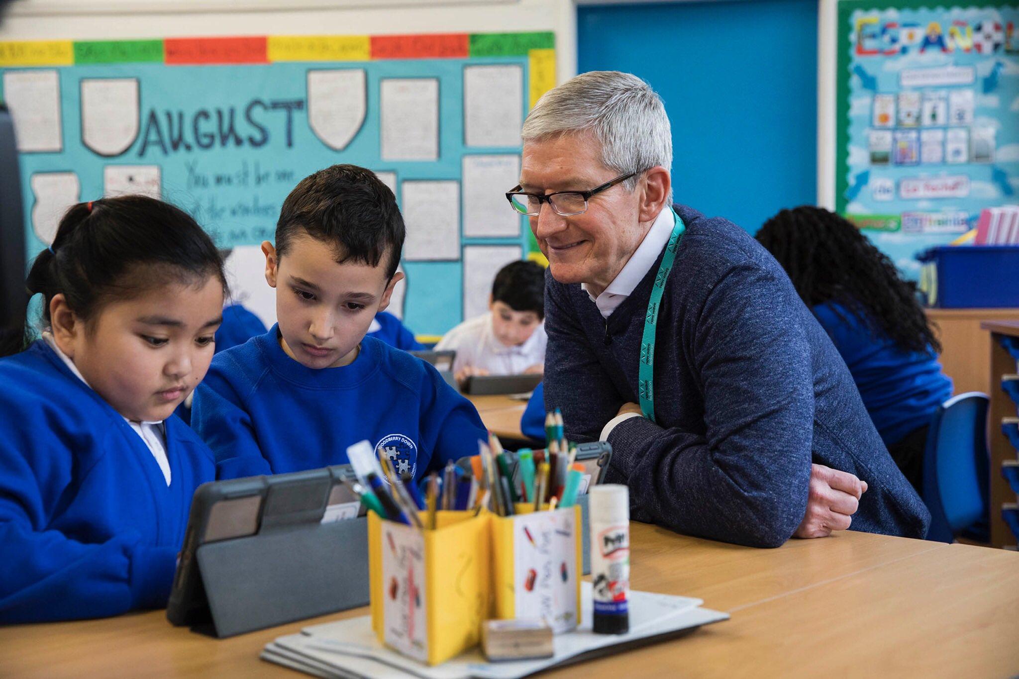 Apple näitab haridusasutustes märke kaotusest võitluses Chromebookidega