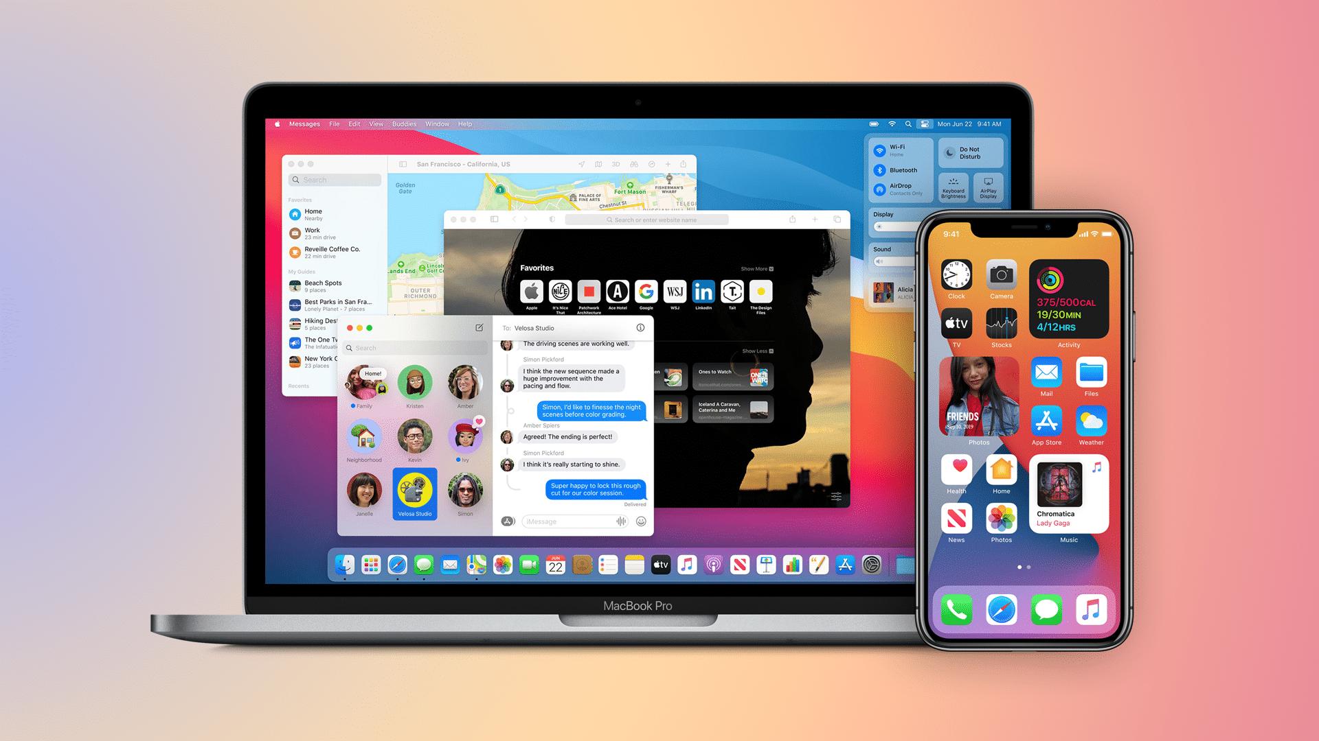 Apple pakub iOS 14, iPadOS 14, macOS Big Sur, watchOS 7 ja tvOS 14 teist beetaversiooni