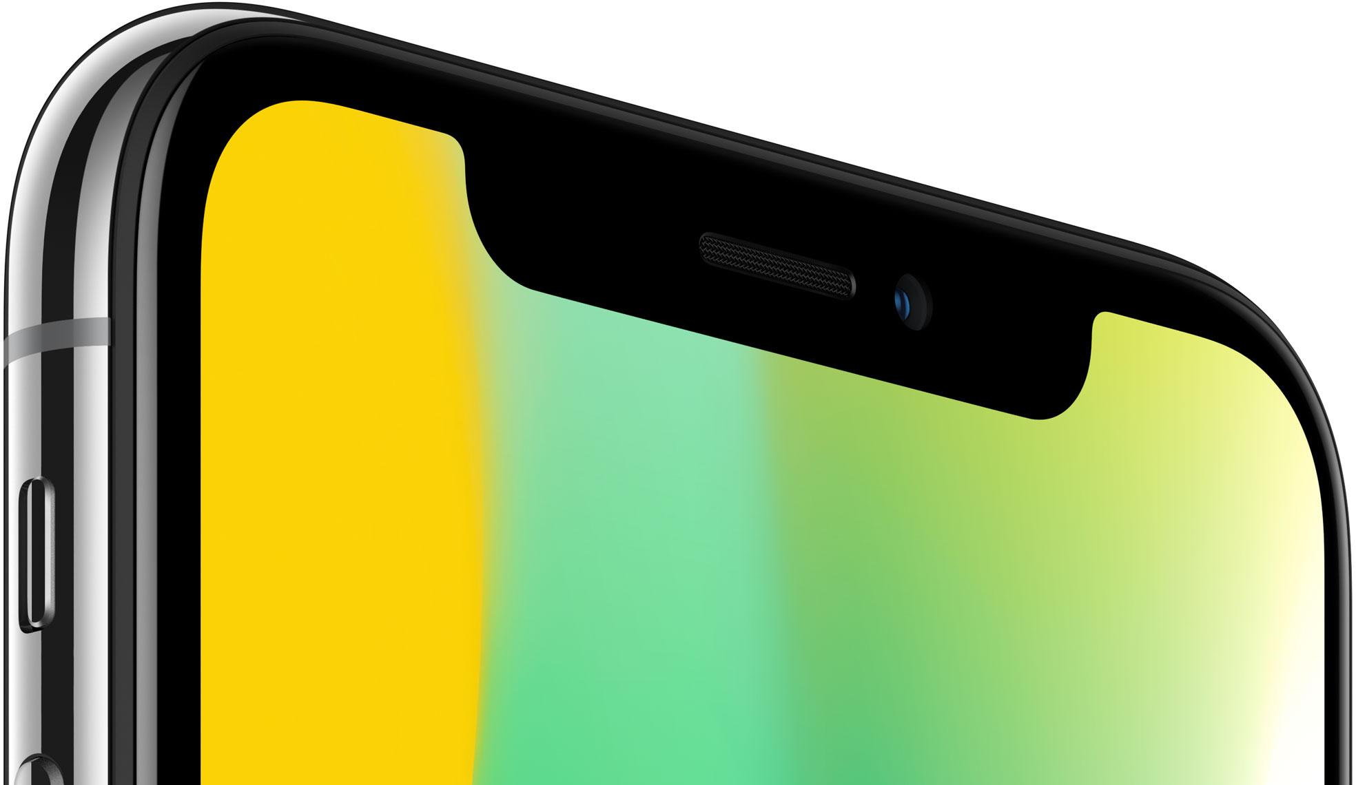 IPhone X esikaamera