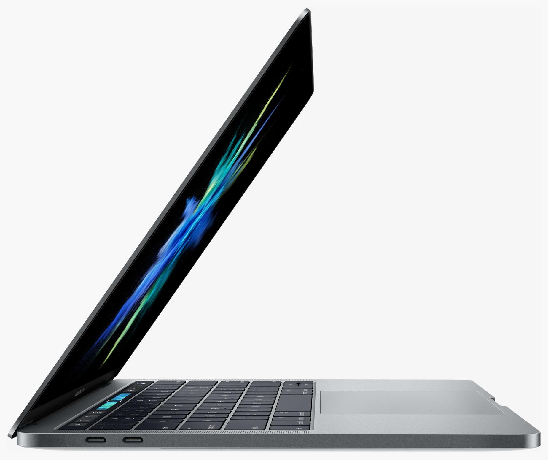 MacBook Pro baru terbuka