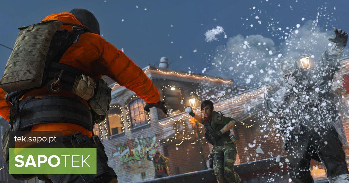 Call of Duty vahetab kuulid lumepallide vastu