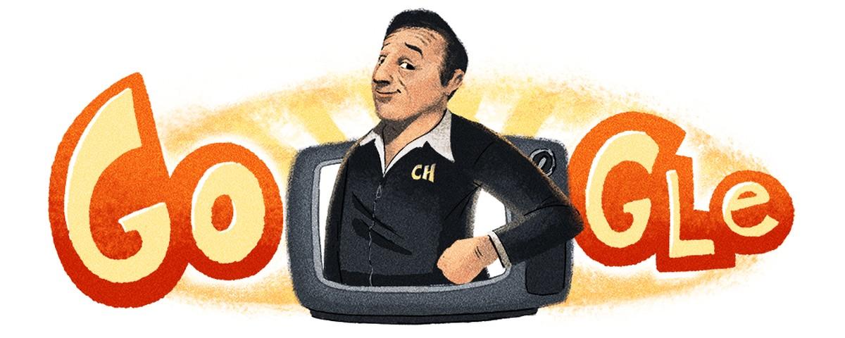 Chespirito Roberto Gómez Bolaños võitis oma sünnipäeval Google Doodle'i