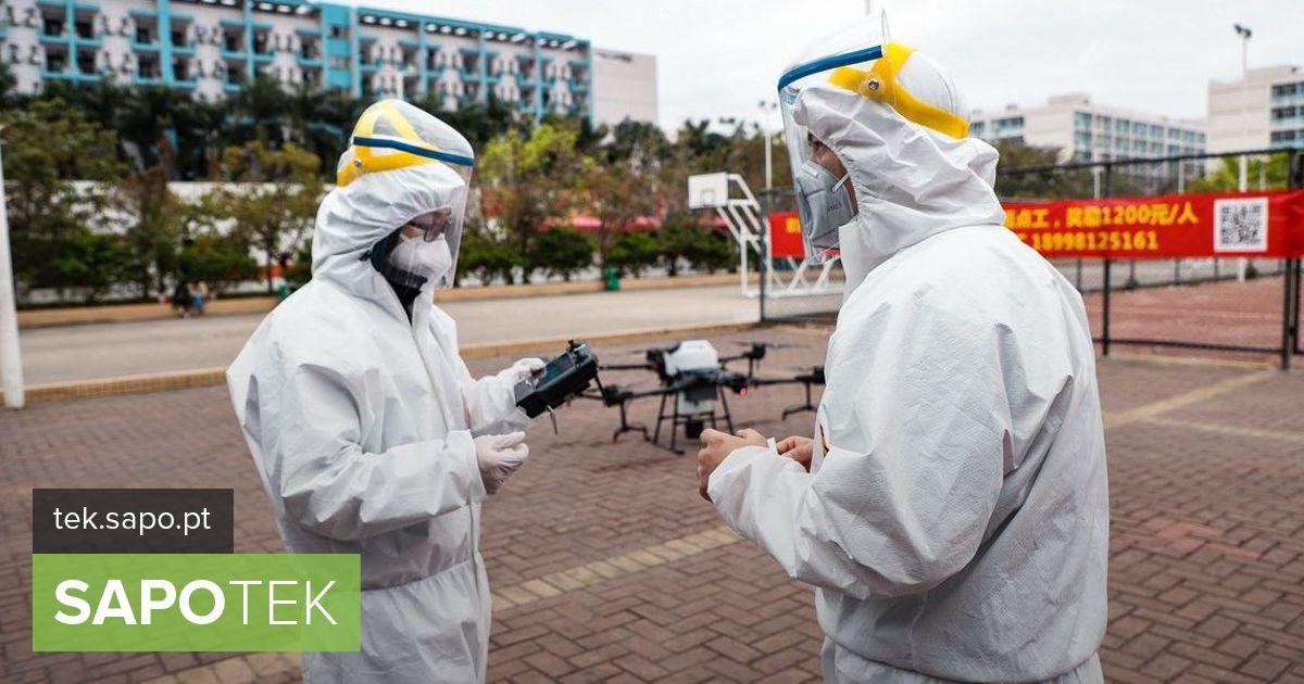 DJI kasutab droone, et aidata Hiinas koronaviirusega võidelda