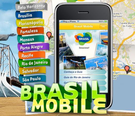 Embratur avab iPhone'i ja iPod touchi jaoks Brasiilia linnade reisijuhi