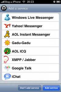 Esimene natiivne MSN programm püsivara 2.0 jaoks