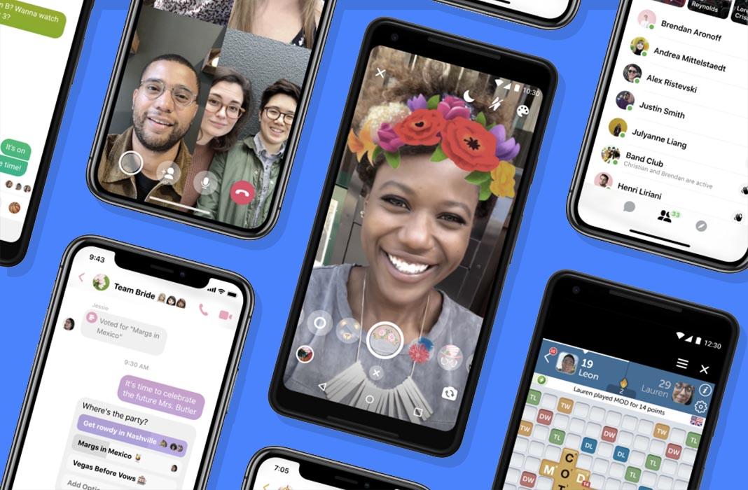 Facebook käivitas uue ja lihtsustatud Messenger 4