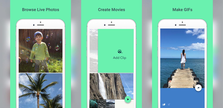 Google käivitab iOS-i rakenduse, mis muudab teie Live Photos animeeritud GIF-ideks
