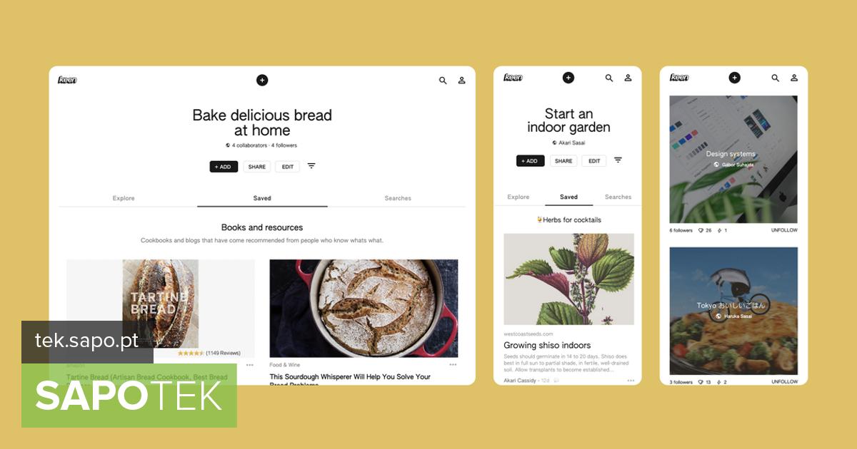 Google käivitas Pinteresti võistlemiseks uue rakenduse