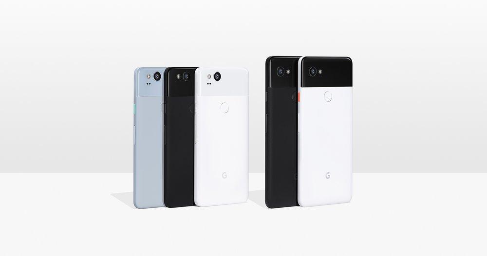 Google teatas uutest Pixel 2 ja Pixel 2 XL