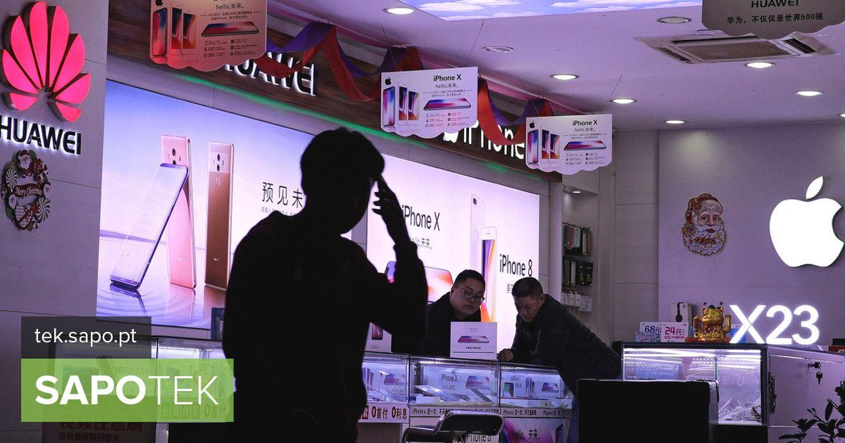 Hiina majanduse aeglustumine viis nutitelefonide müügi vähenemiseni