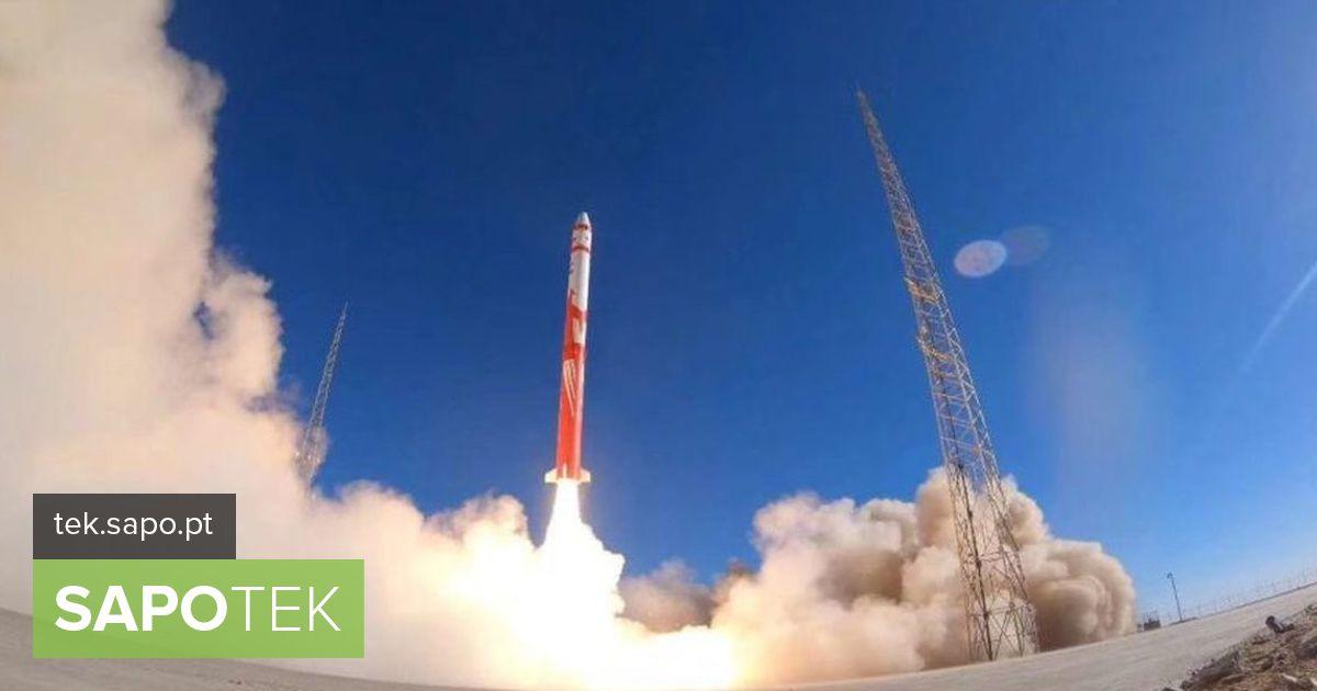 Hiinal ei õnnestunud kosmosesse paigutada erasatelliite