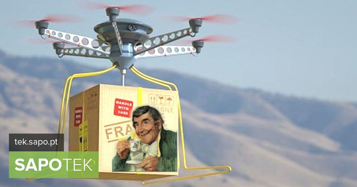 IBMi patent avalikustas töötajatele kohvi pakkuva drooni