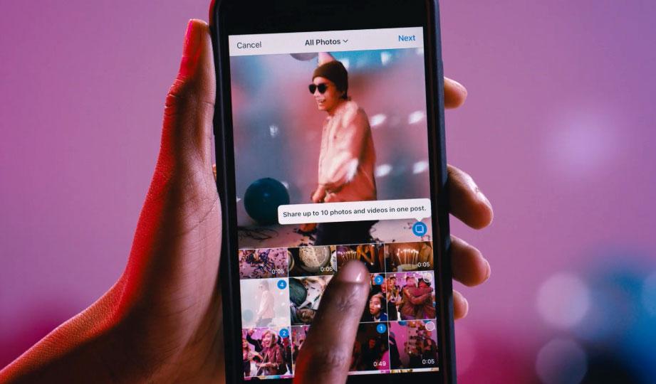Instagram lubab nüüd ühes postituses albumeid, milles on kuni 10 pilti