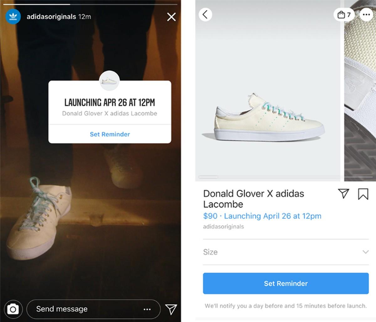 Instagram testib toodete müügiteatisi
