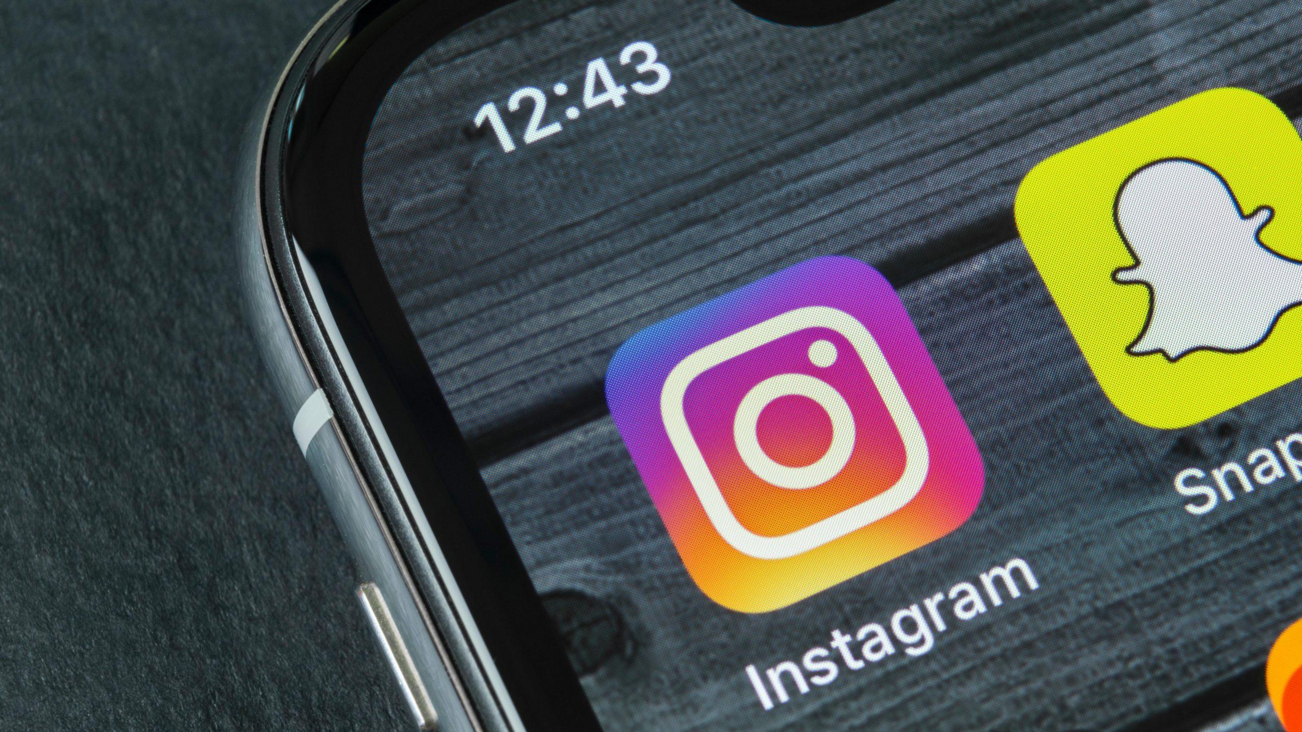 Instagrami algoritm juhib aktifotosid