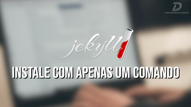 Installige Jekyll Ubuntu ja Fedorasse vaid ühe käsuga