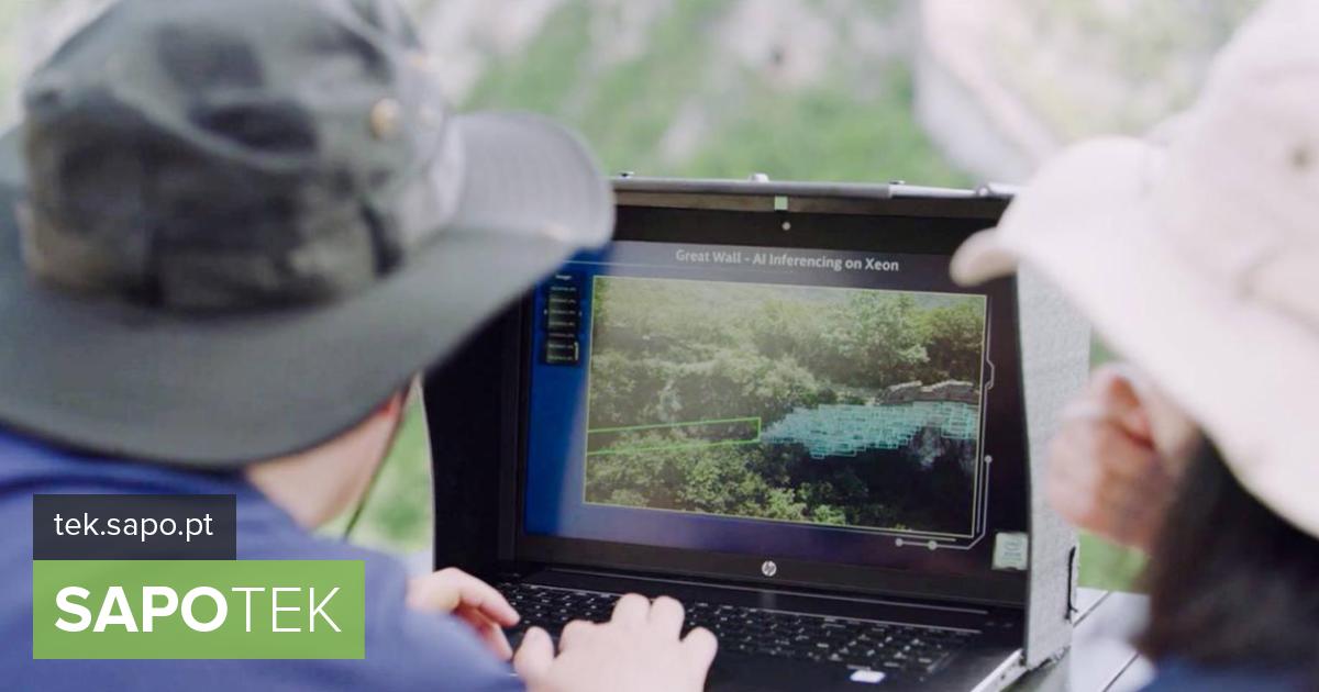 Kuidas Intel kasutab droone ja tehisintellekti Hiina müüri säilitamiseks