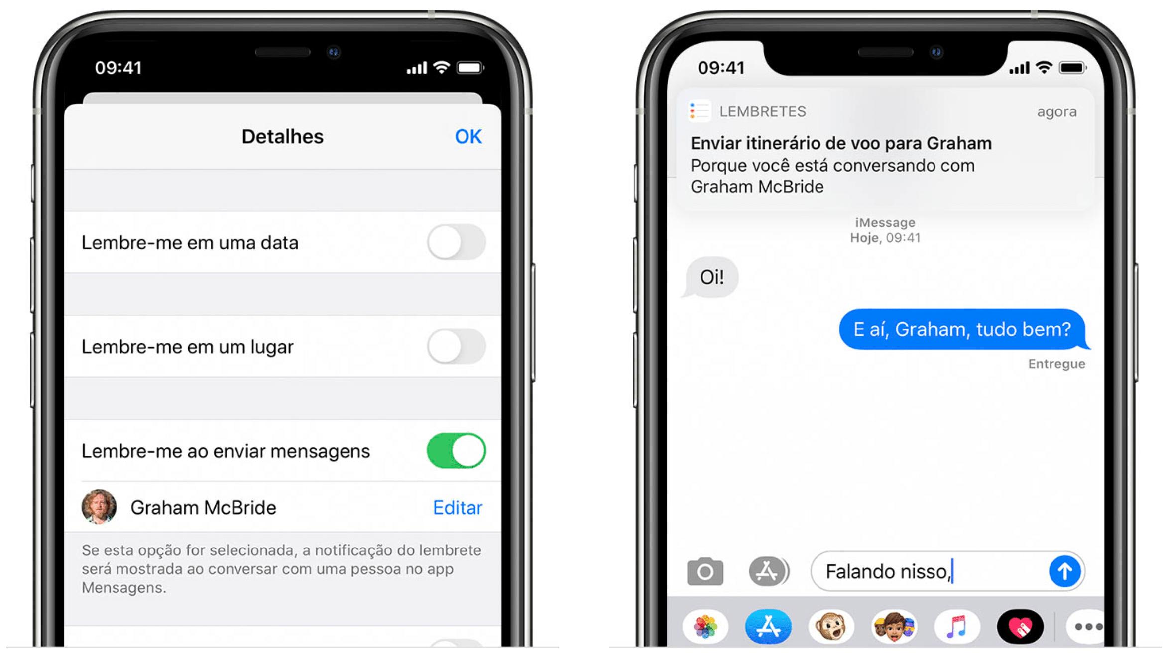 Kuidas kasutada meeldetuletusi, et iMessage'is kontaktiga vesteldes teile midagi meelde tuletada