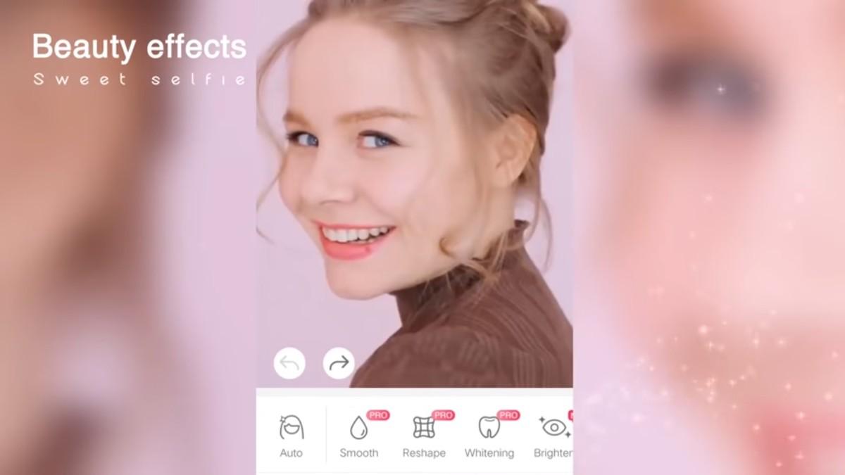 Kuidas kasutada rakenduses Sweet Selfie telefoni fotode muutmiseks