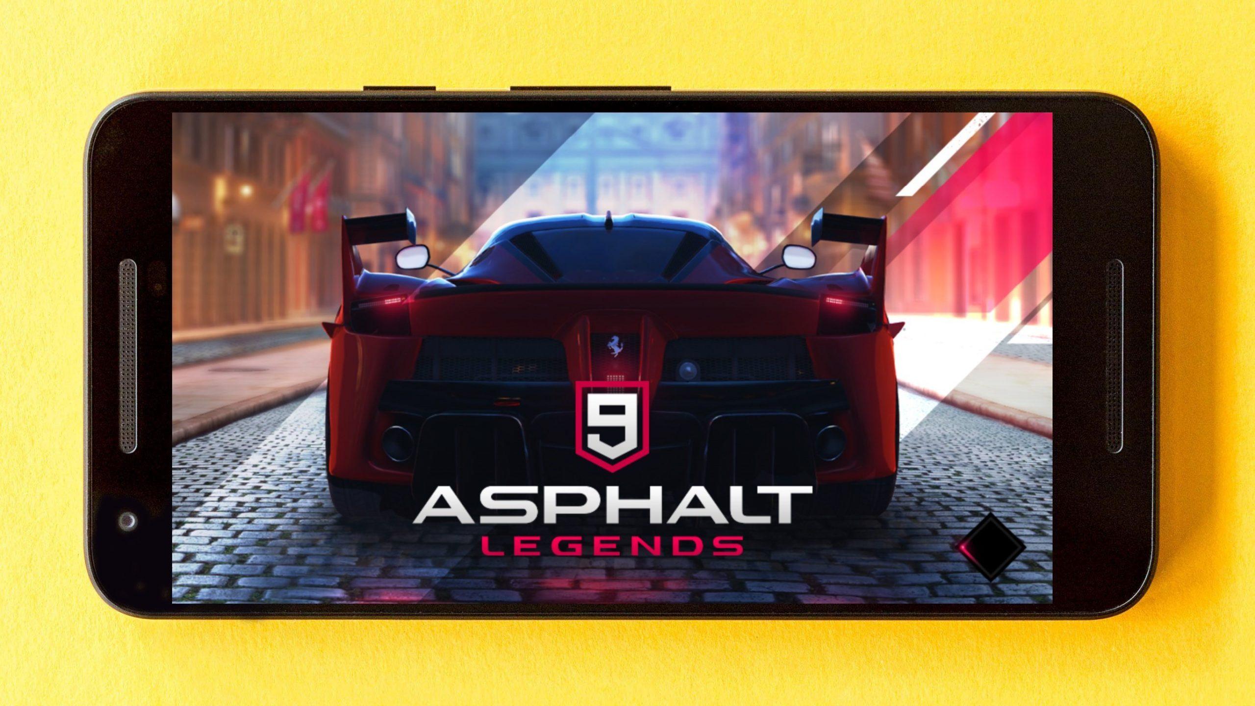 Laadige alla: Androidile ametlikult välja antud Asphalt 9 Legends