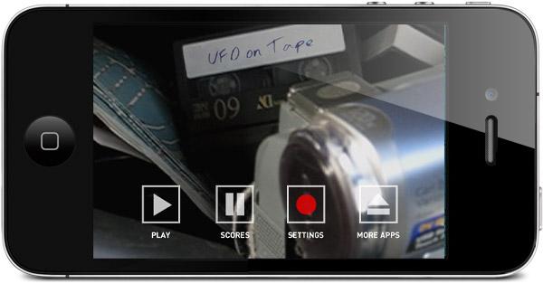 Mäng UFO teibil kasutab lendava taldriku filmimiseks iPhone'i güroskoopi