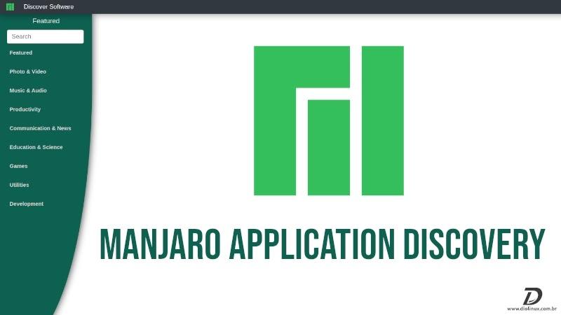 Manjaro lansseerib kaasaegse ja intuitiivse kujundusega tarkvaraotsingu lehe