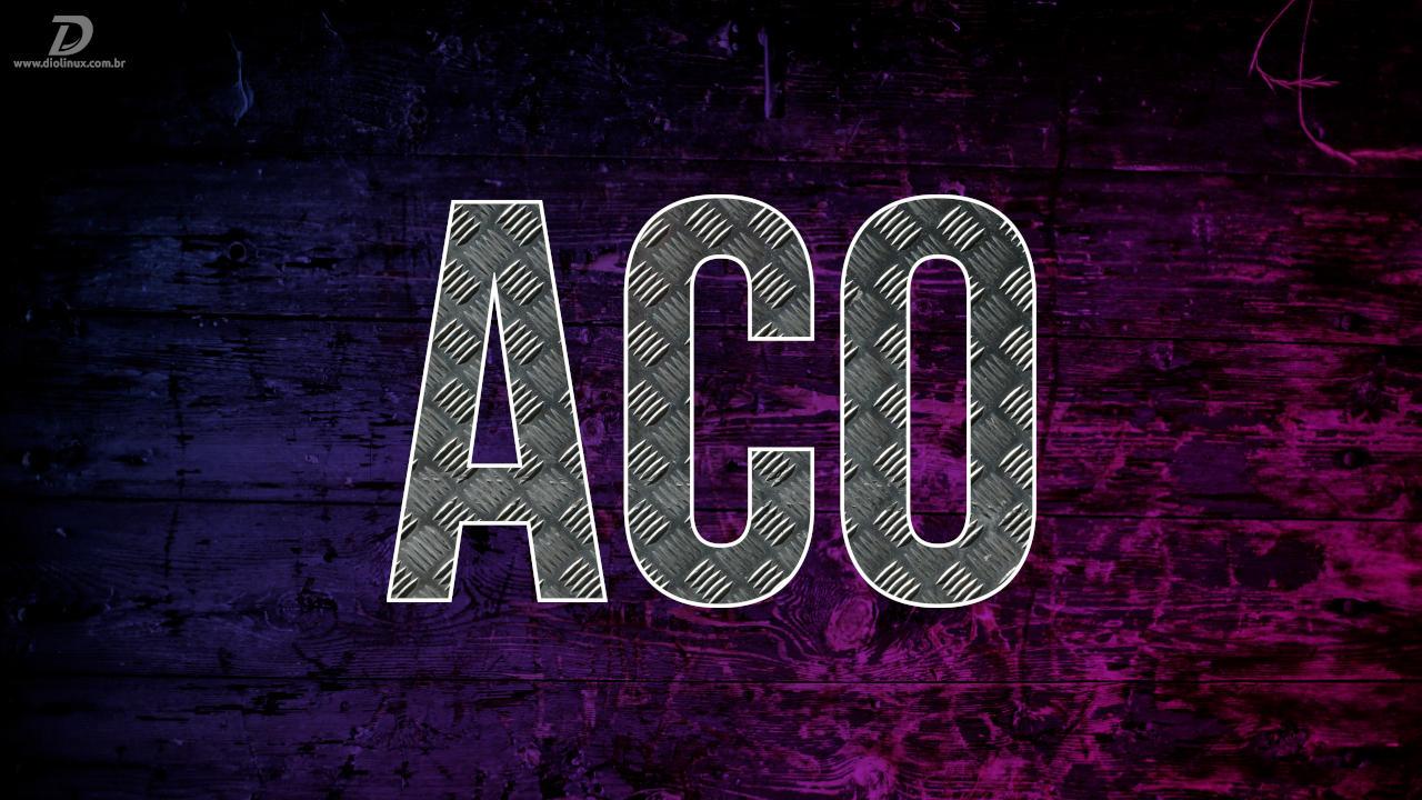 Meso 20.2 standardvarjuri kompilaator peaks olema ACO