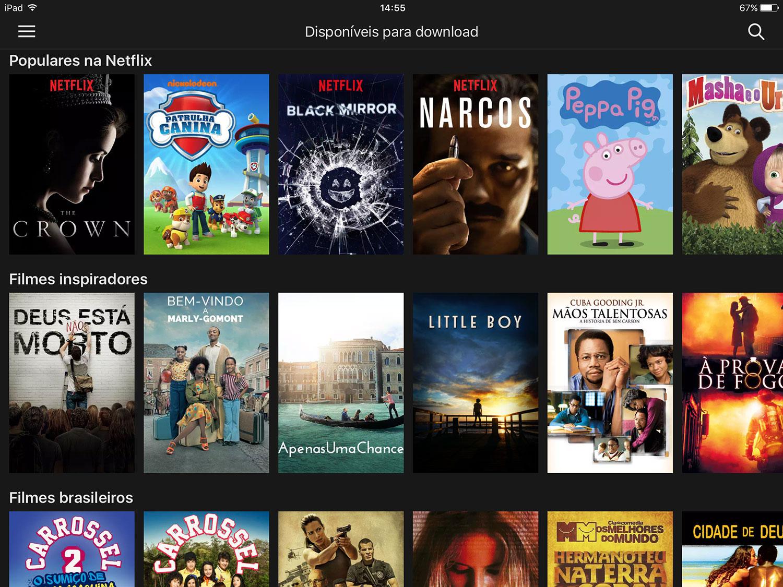 Netflix võimaldab nüüd võrguühenduseta vaatamiseks filme alla laadida