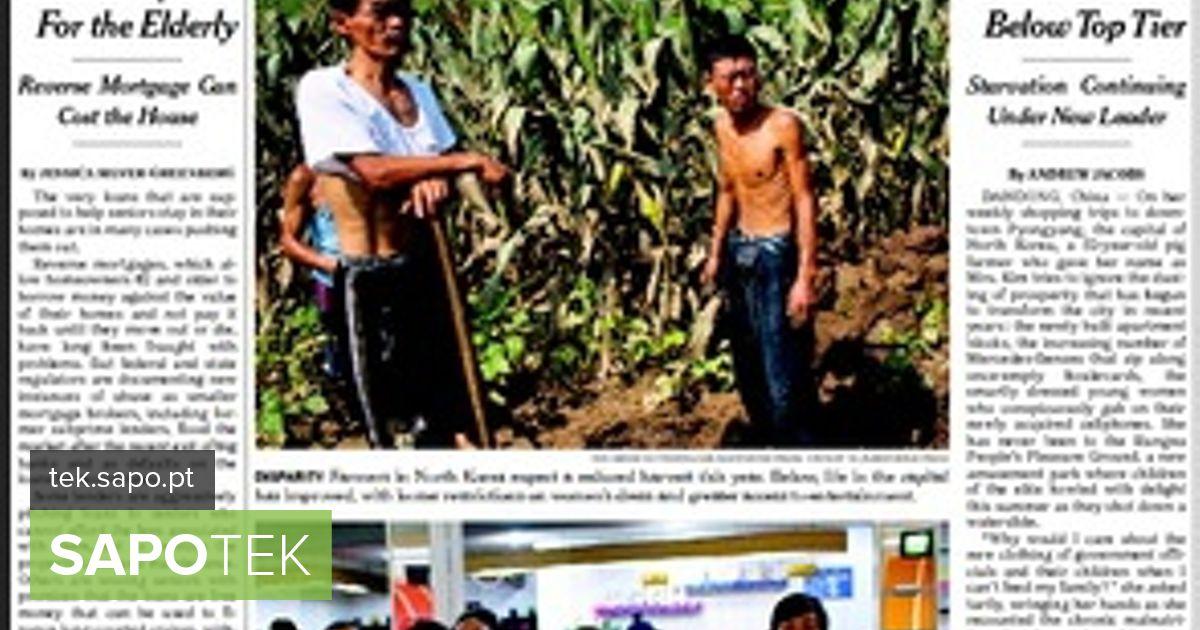 New York Times koostas väljaande portugali keeles