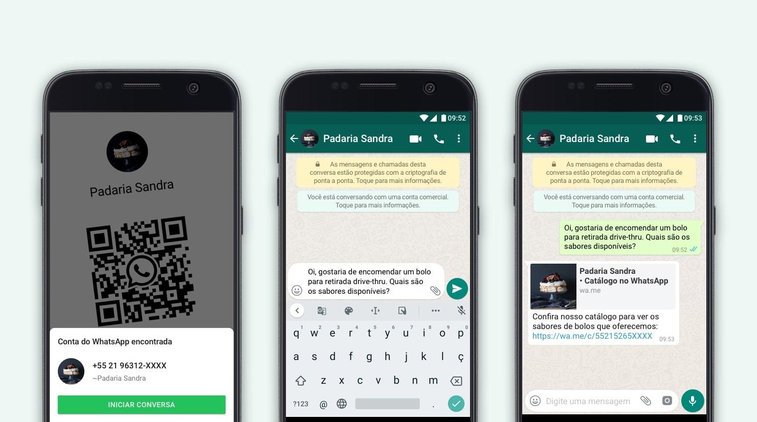 Nüüd on WhatsAppis võimalik QR-koodiga ettevõttega vestlust alustada