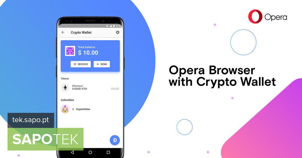 Opera käivitas brauseri Androidi versioonis krüptoraha rahakoti