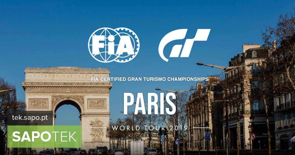 Pariisis toimub 2019. aastal FIA sertifitseeritud Gran Turismo