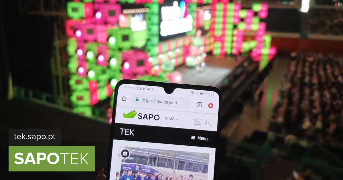 Põhilaval palju andme- ja videokõnesid: SAPO TEKi kogemus 5G-ga Web Summitil