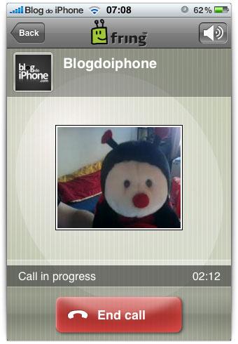 Panggilan video IPhone