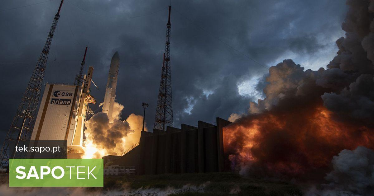 """Rakett Ariane 5 kandis Konnecti ja GSAT-30 satelliite """"teel"""" oma esimesel reisil 2020. aastal"""