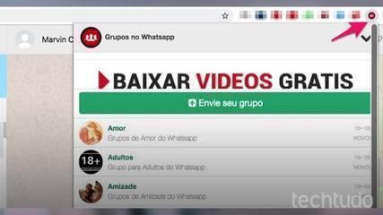 Kuidas leida WhatsAppis Chrome'i pistikprogrammiga töörühmi