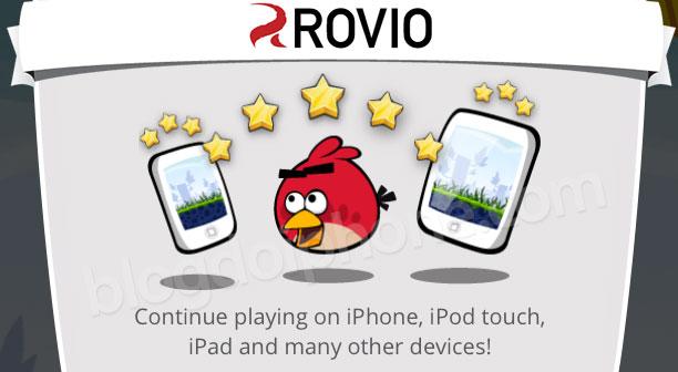 Sinkronisasi Angry Birds