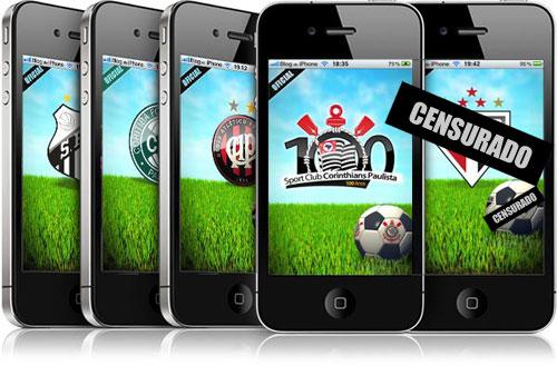 São Paulo Futebol Clube väidab, et tal pole ametlikku iPhone'i rakendust