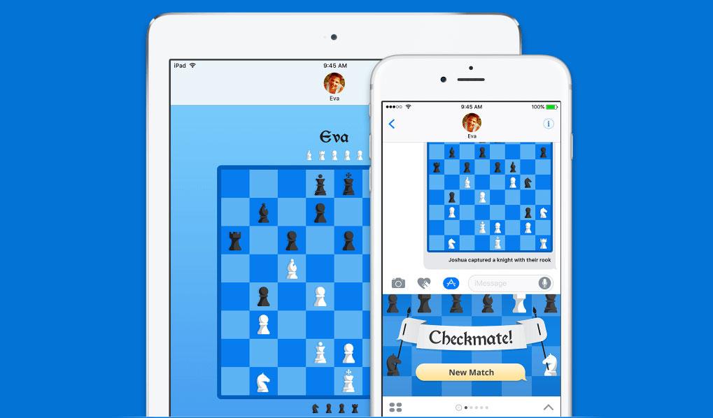 Selle nädala tasuta rakendus on iMessage'i malemäng