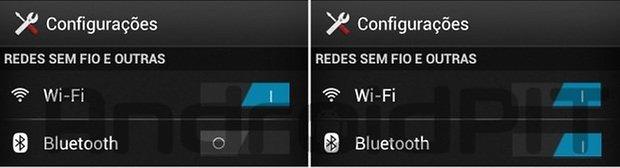 Bluetooth aktif