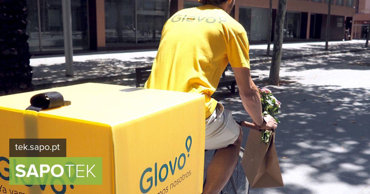 Sintra on osa 15 Portugali linnast, kus saate Glovost tellida